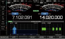 Пример анализатора аудио спектра