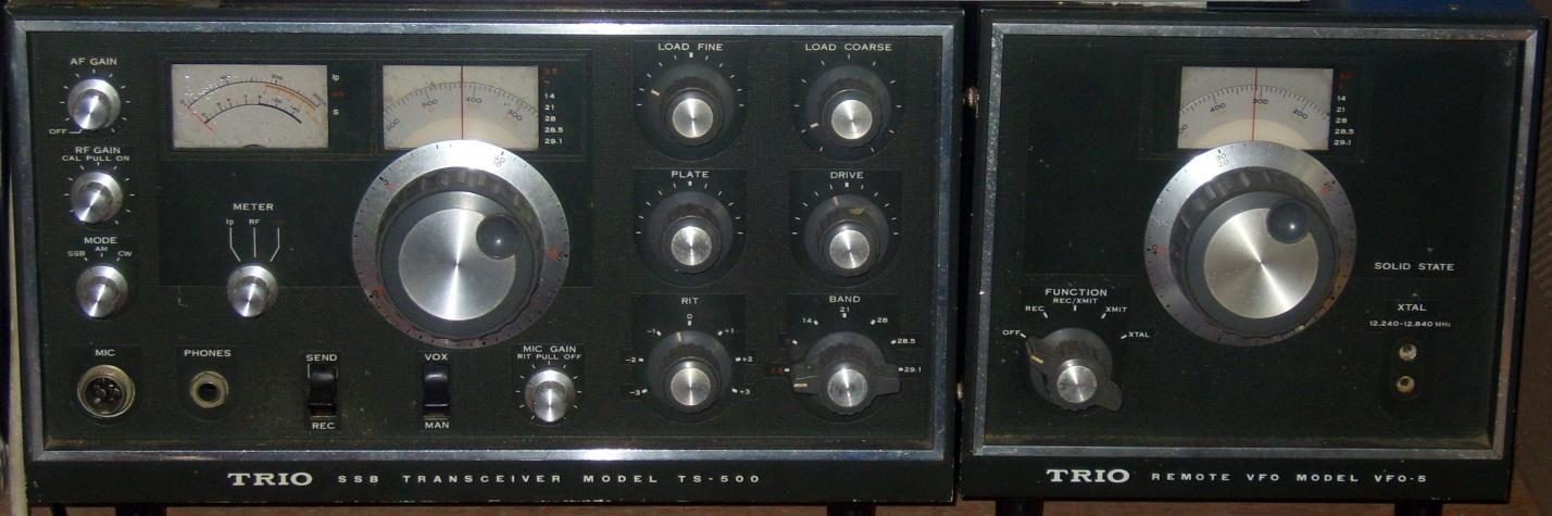 TRIO (Kenwood) TS-500
