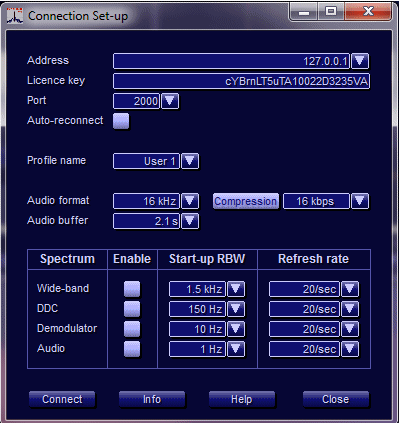 G33DDC Client/Server Option - Client Set-up