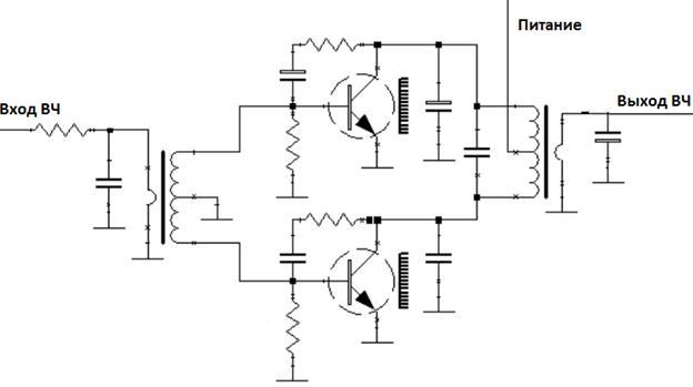 простая схема мостового