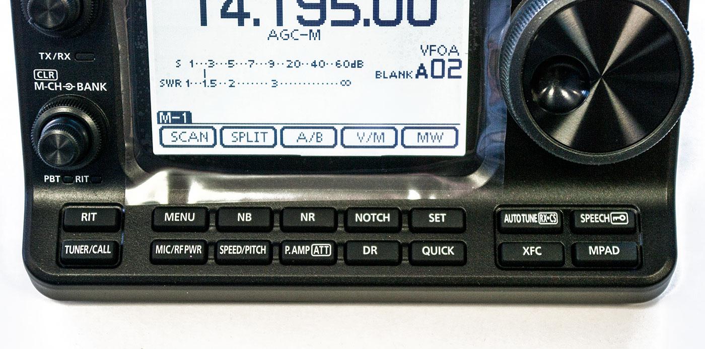 Icom hm-133v hand mic