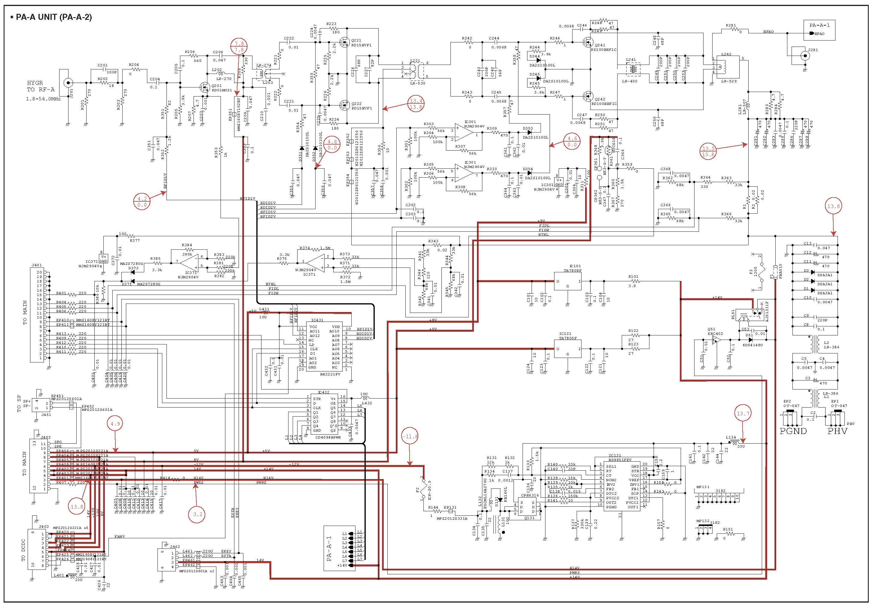 Схемы усилителей мощности для трансивера