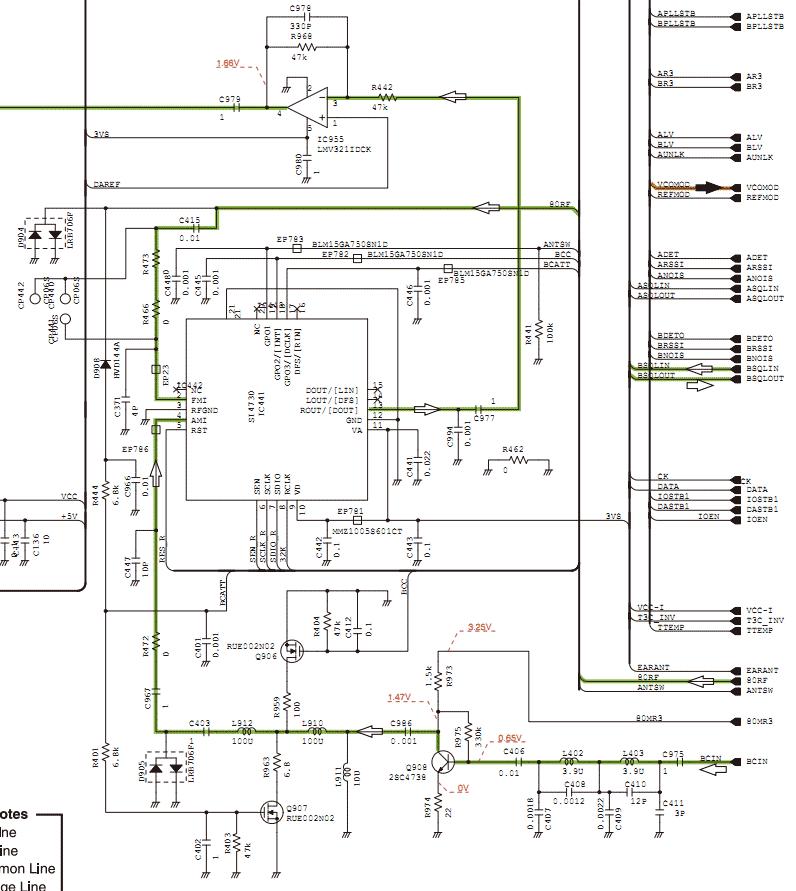 Схемотехника радиостанции ICOM
