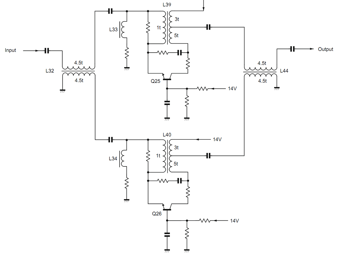 схема индикатора загрузки на транзисторах