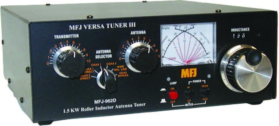 Антенный тюнер MFJ-962D