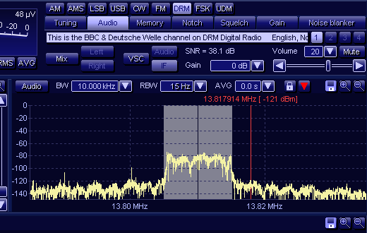 WiNRADiO DRM Demodulator/Decoder